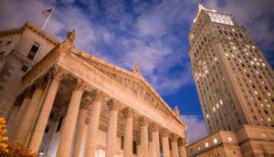 Das District Gericht in New York City wo der Fall zwischen US-Börsenaufsicht und dem Token-Projekt Kik ausgehandelt wird