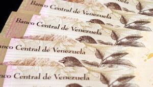 Venezolanische Geldscheine Bolivar