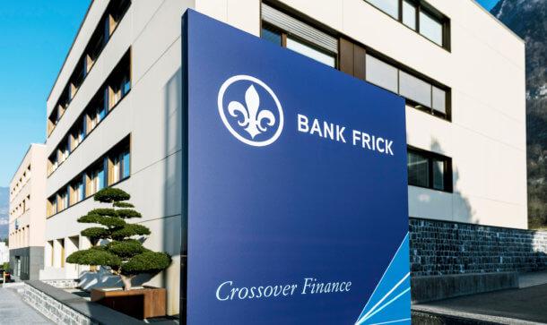 Hauptsitz Bank Frick in Liechtenstein