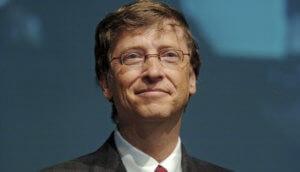Bill Gates in closeup