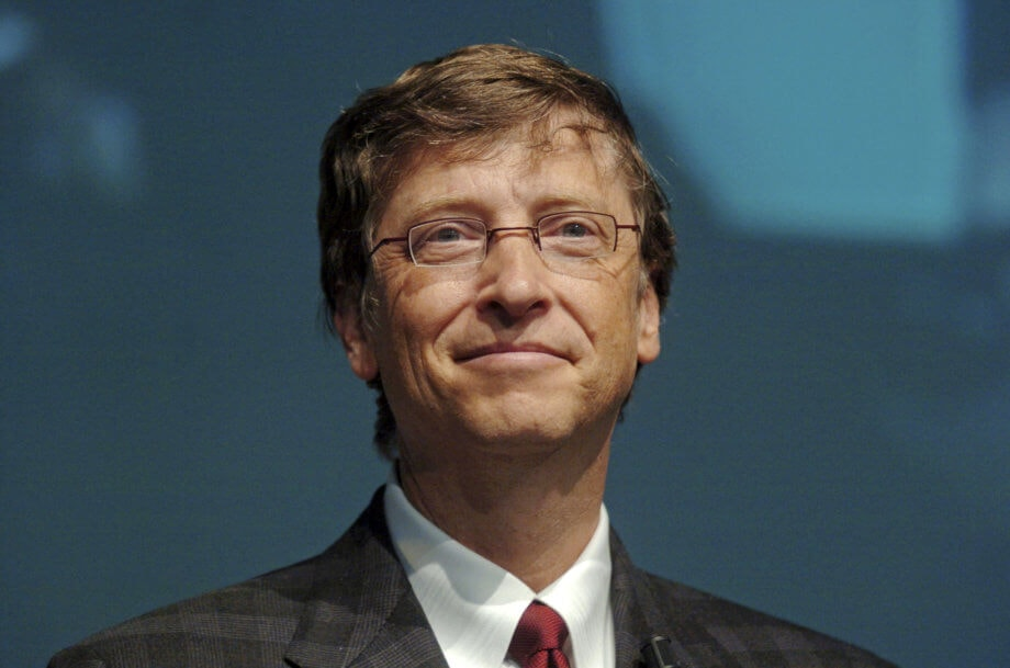 Bill Gates in closeup