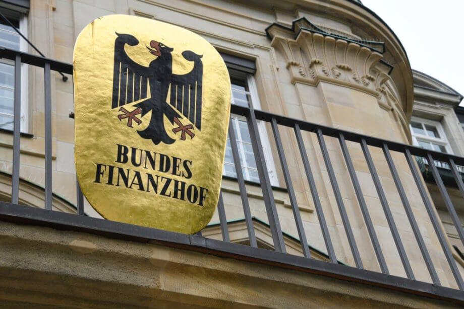 Schild des Bundesfianzhofs