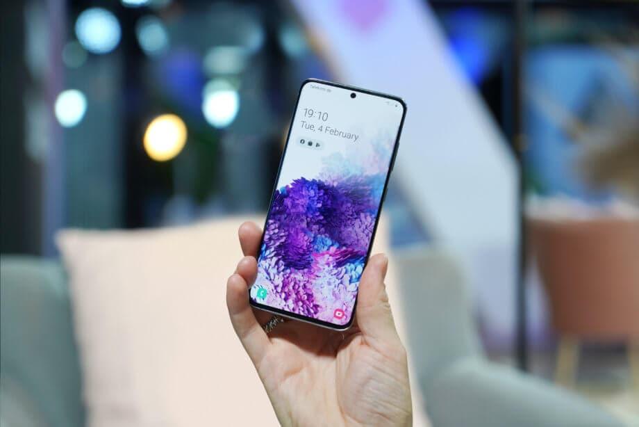 Das Galaxy S20 von Samsung