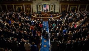 Rede des Präsidenten der Ukraine Petro Poroschenko auf der gemeinsamen Sitzung von Senat und Repräsentantenhaus in Washington, DC (USA)