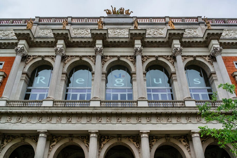 Fassade der Wiener Börse