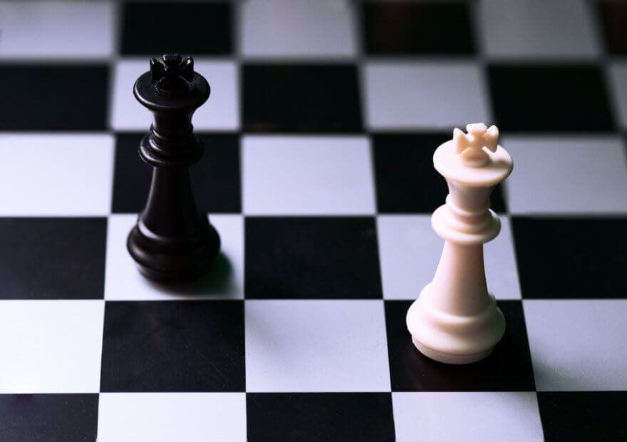 Pattsituation im Schach