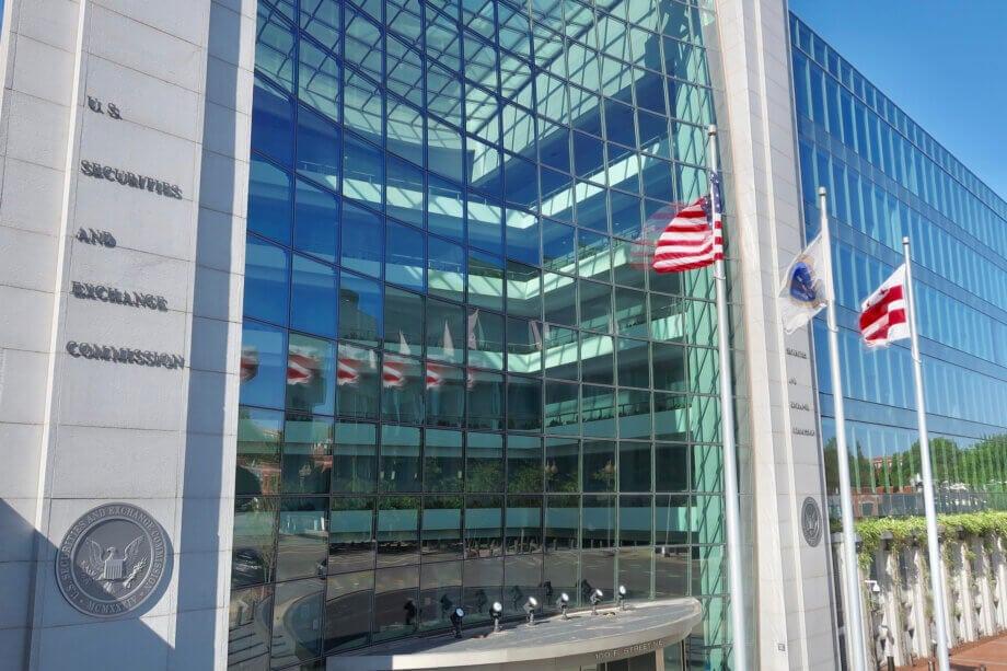 das gebäude der us-börsenaufsicht SEC
