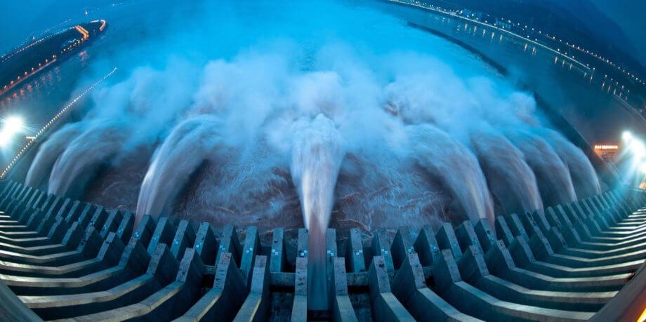 Staudamm in China