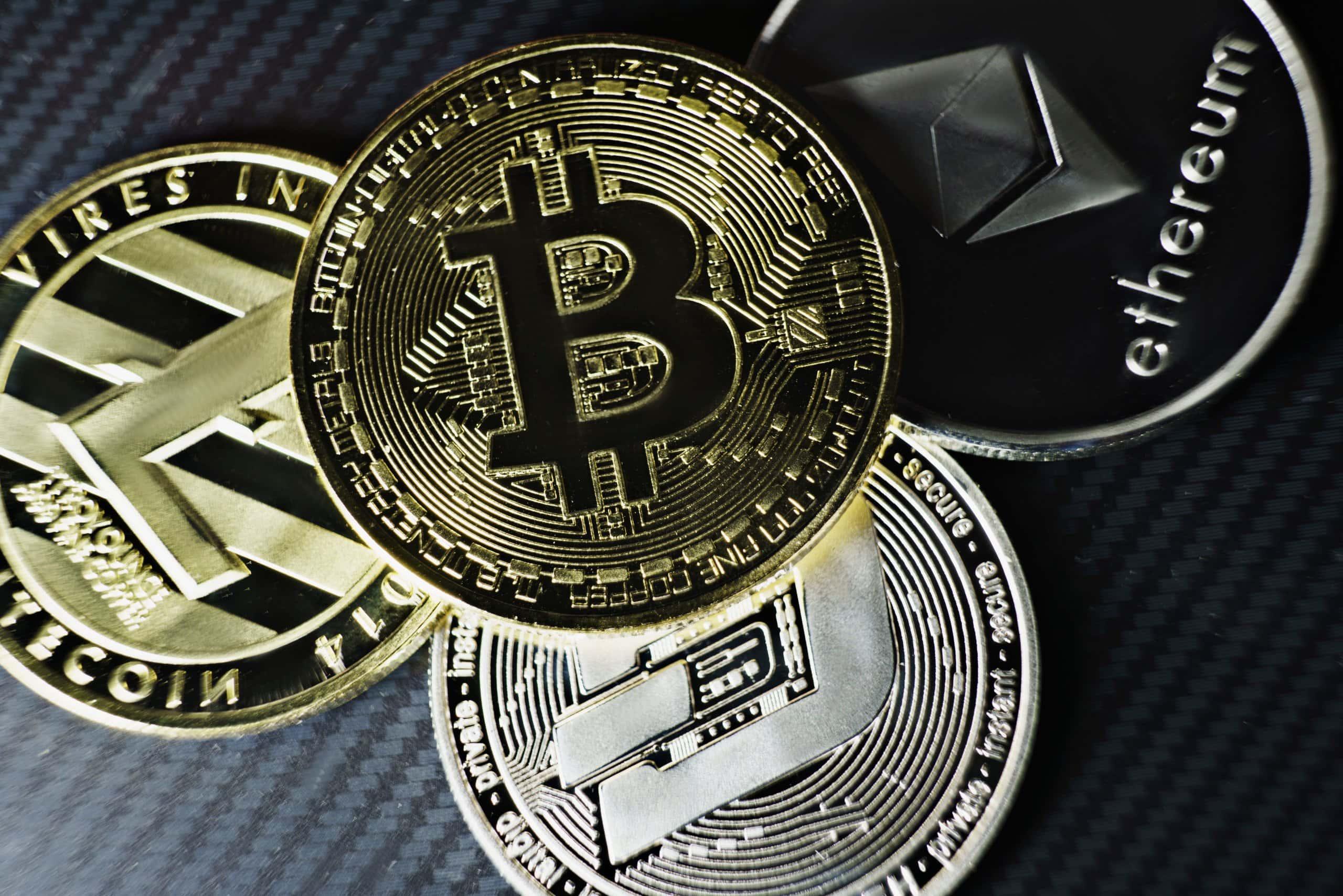 bitcoin litecoin dash ethereum