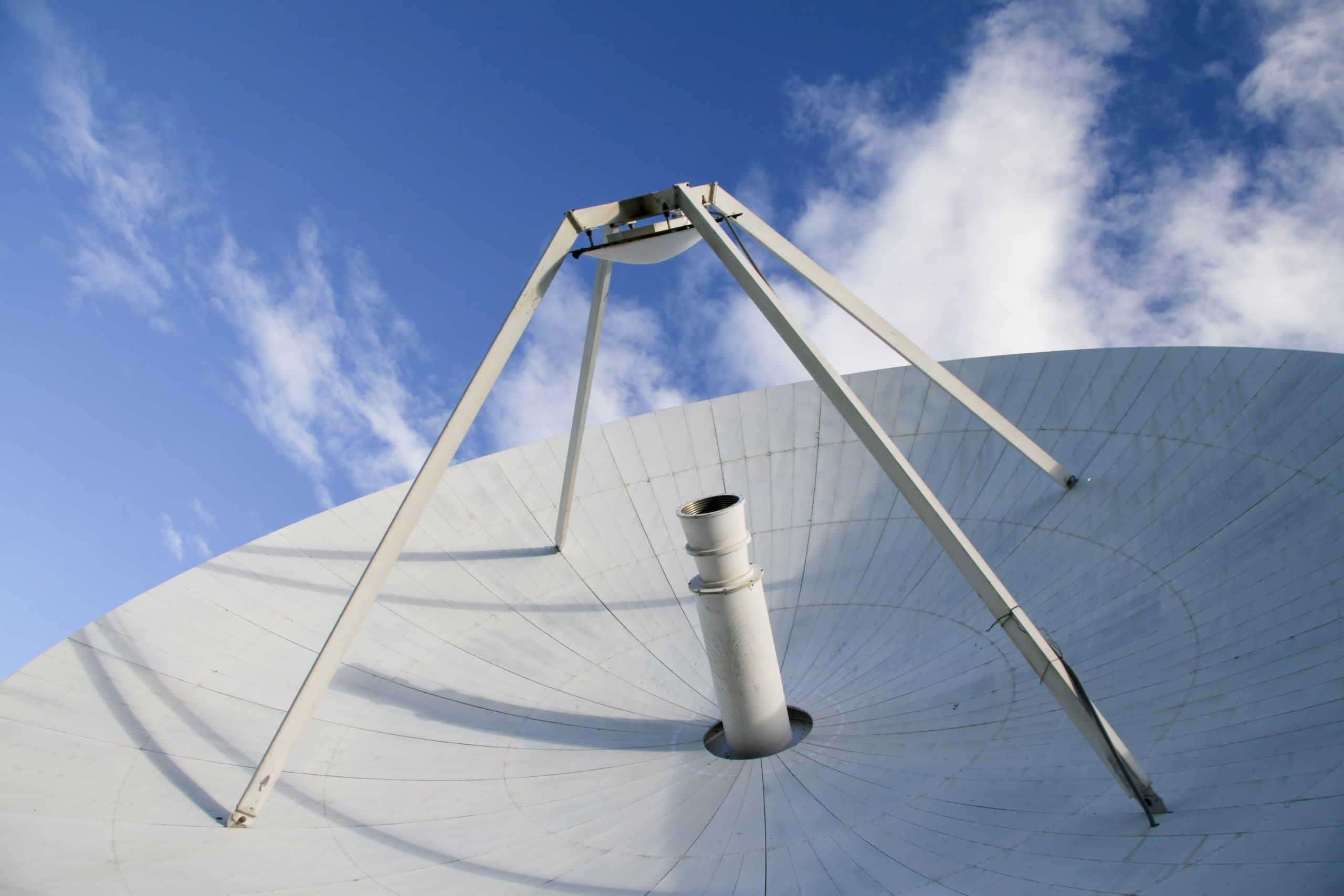 eine satelittenschüssel