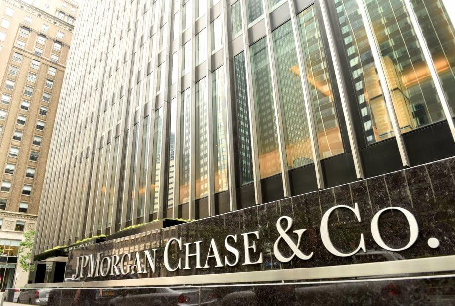 Das Gebäude von JP Morgan chase