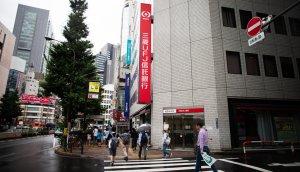 mitsubishi bank in japan