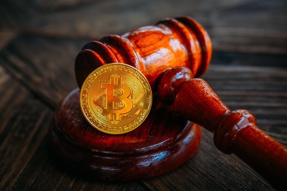 Hammer und Bitcoin