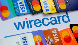 wirecard logo zwischen kreditkarten