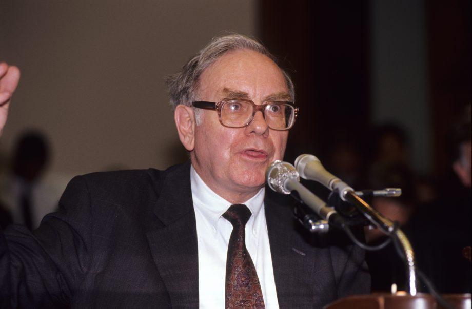 Warren Buffet im Jahr 1991: Damals noch ein Gold-Gegner