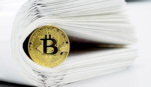 Bitcoin in Papier