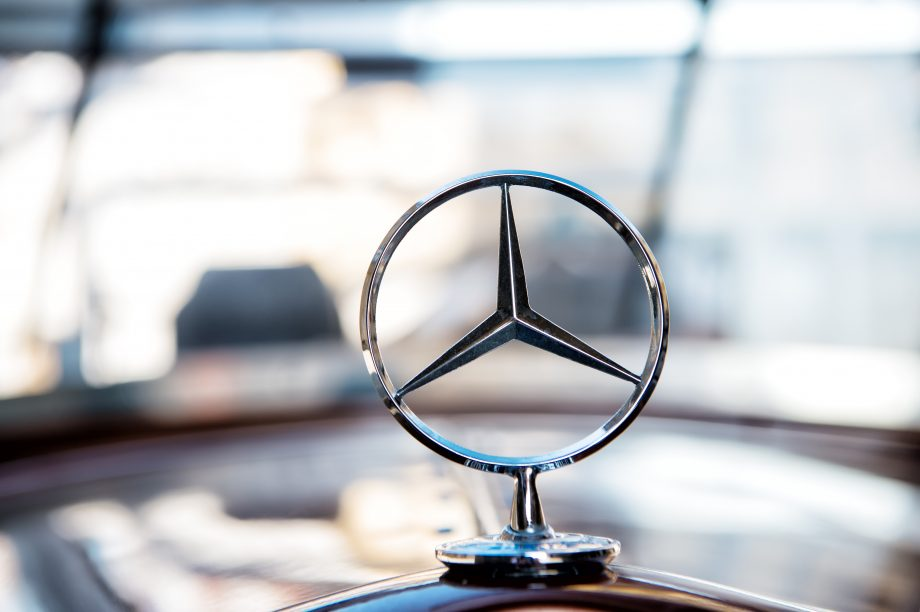 Stern von Daimler-Tochter Mercedes Benz