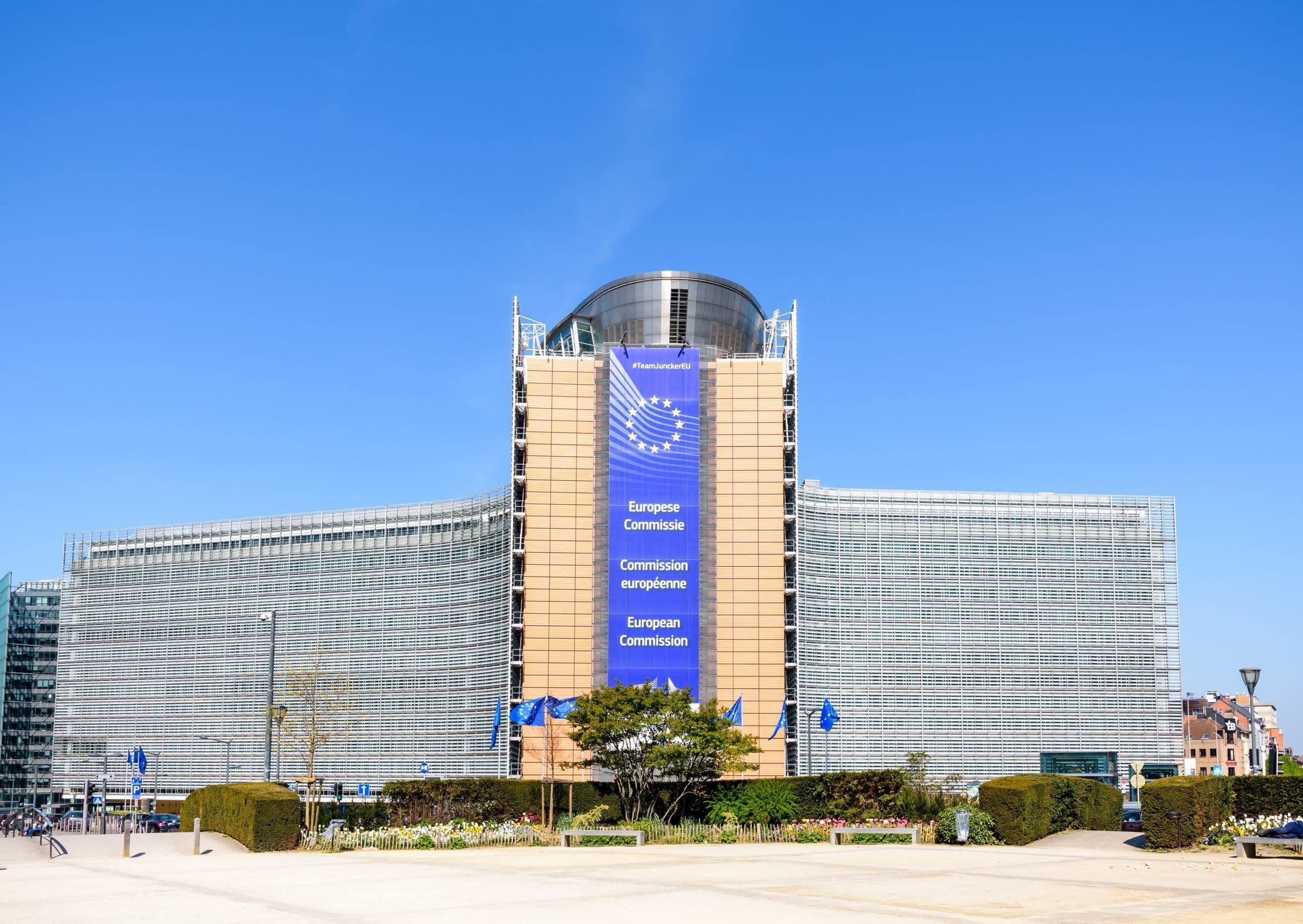 Gebäude der Europäischen Kommission in Brüssel