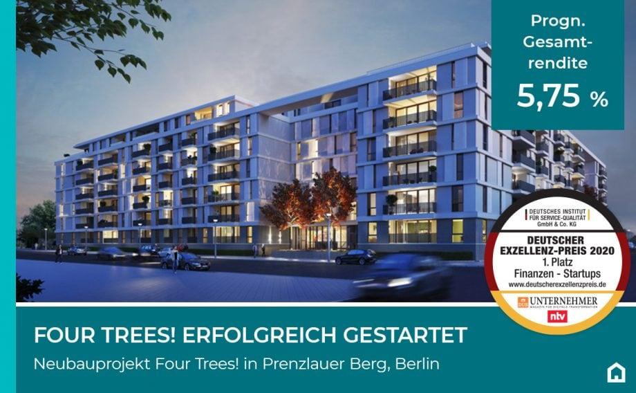 Four Trees! Projekt in Berlin