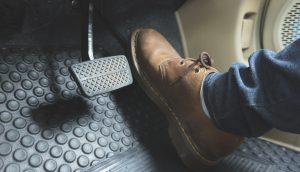 Schuh drückt aufs Gaspedal