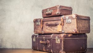 Koffer stehen gepackt