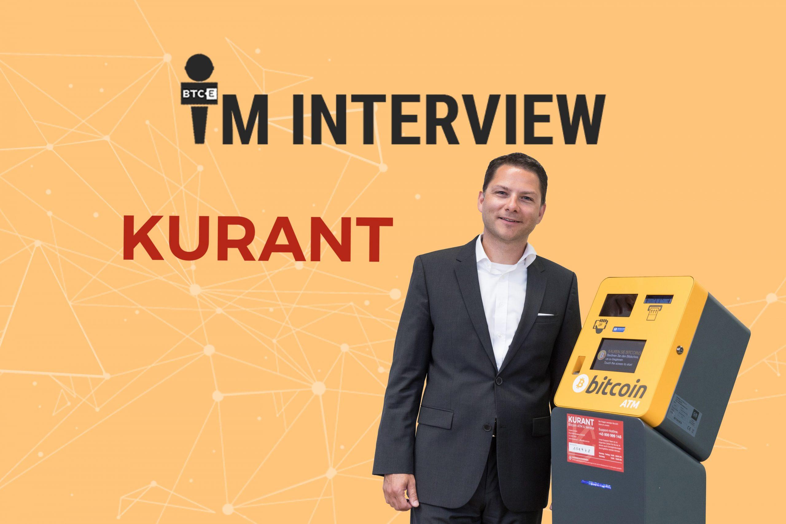 Interview mit Kurant Geschäftsführer zu Bitcoin ATM