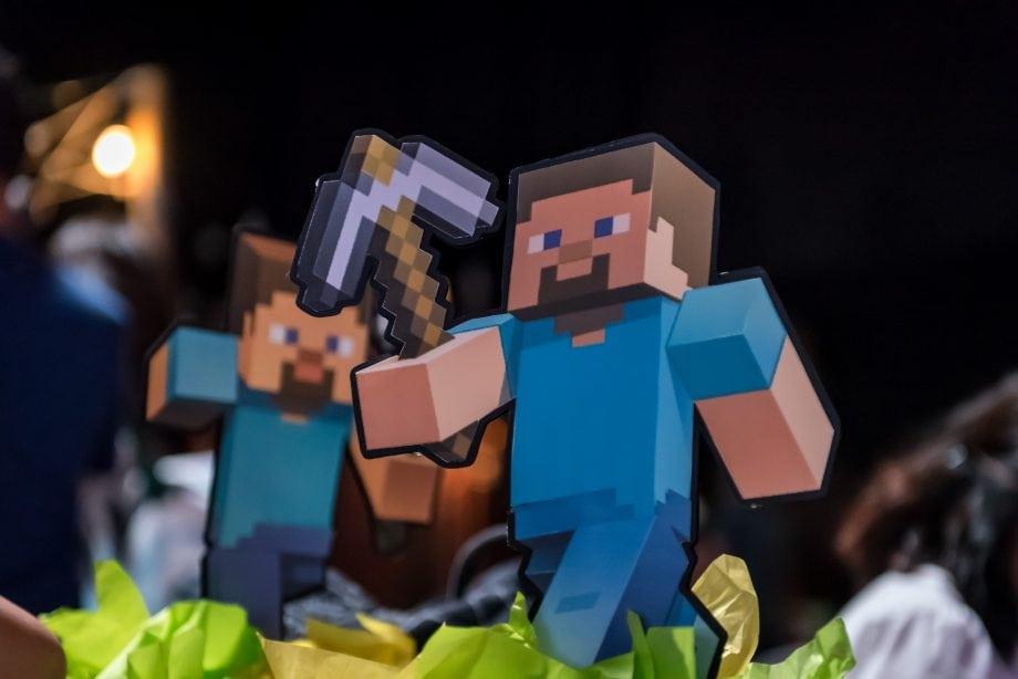 Minecraft Spielfigur