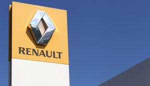 Firmenschild von Renault