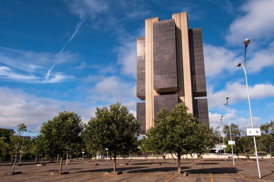 Gebäude der Zentralbank von Brasilien
