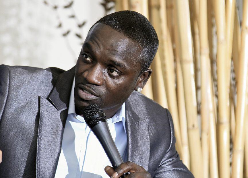 Der senegalesische Sänger Akon