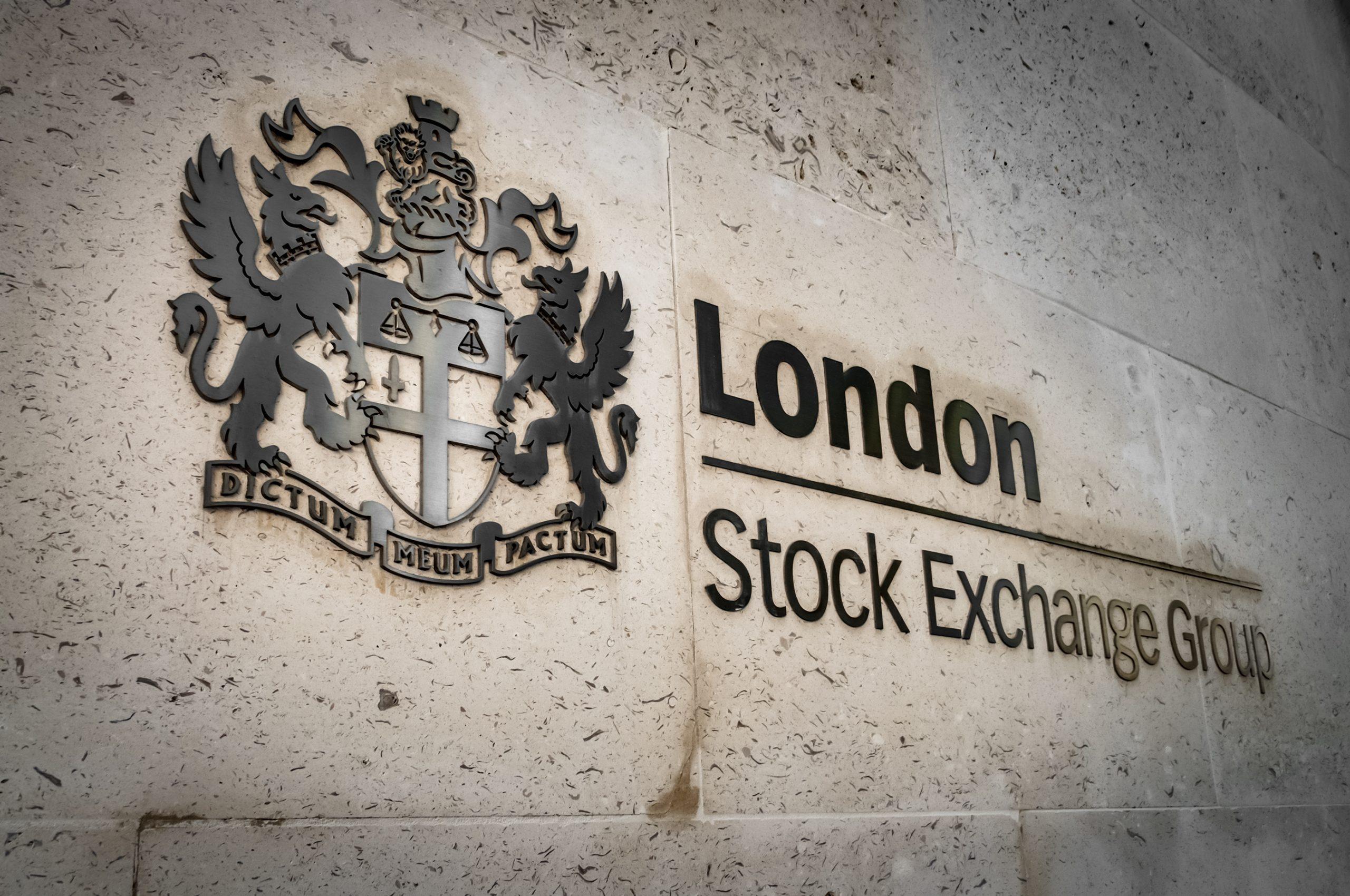 Logo der Börse London Stock Exchange