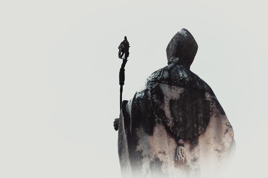 Der Bitcoin-Papst dankt im Nebel ab.