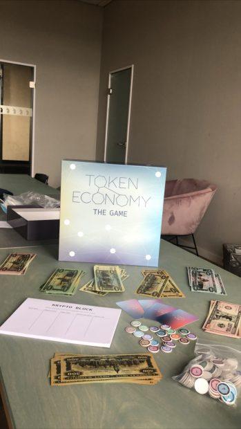 Das Blockchain-Brettspiel Token Economy