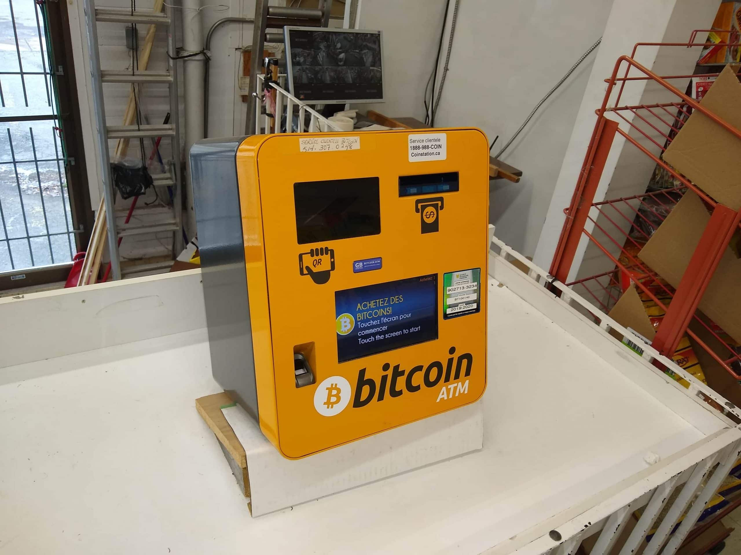Bitcoin ATM in Kanada