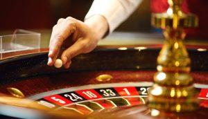 Roulette-Tisch im Casino