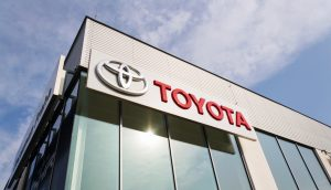 Toyota-Firmengebäude