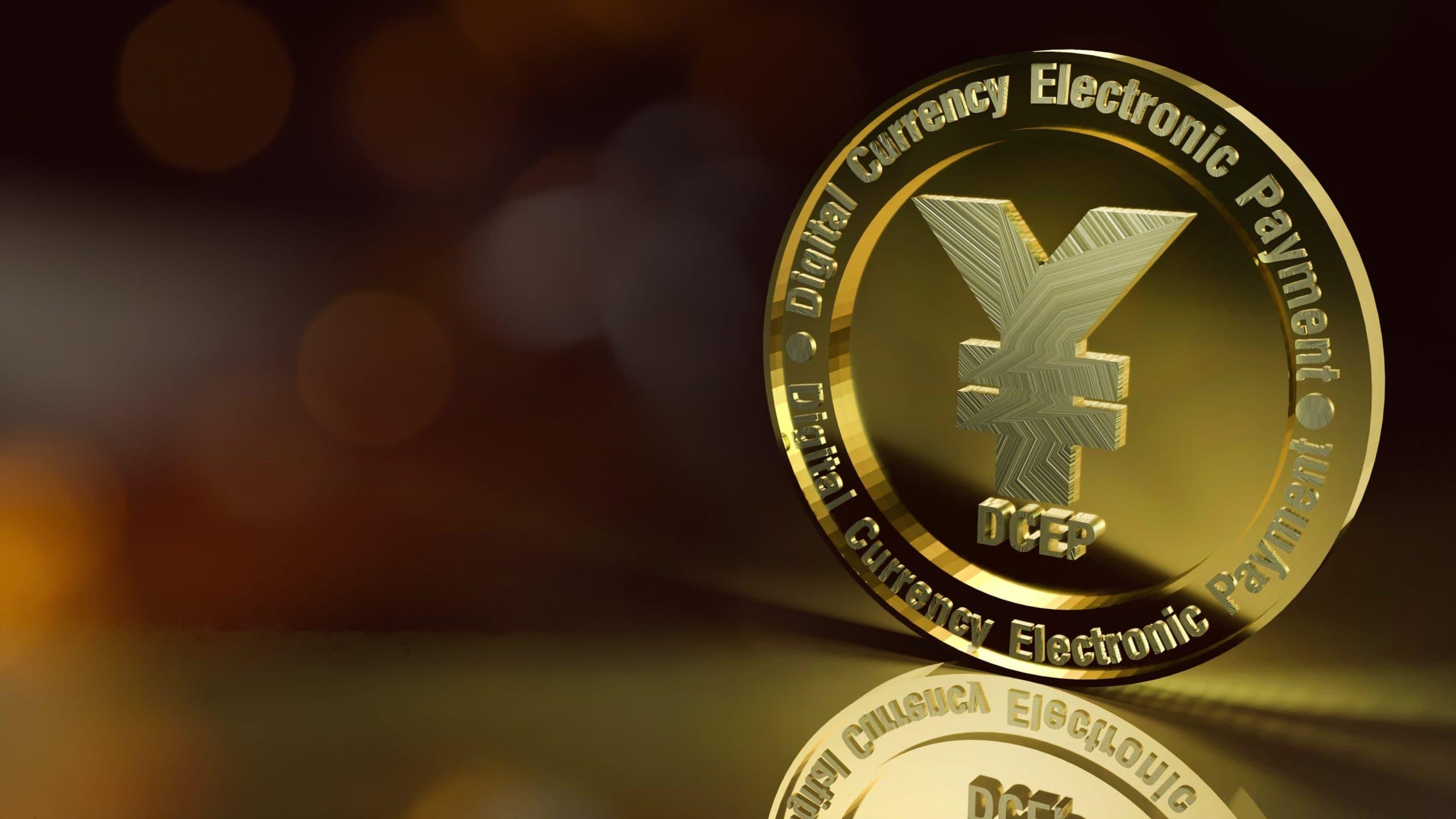 3-D-Darstellung einer DCEP-Münze