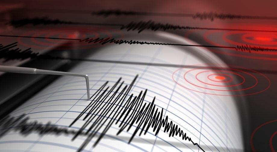 Tsunami Seismograph schlägt aus