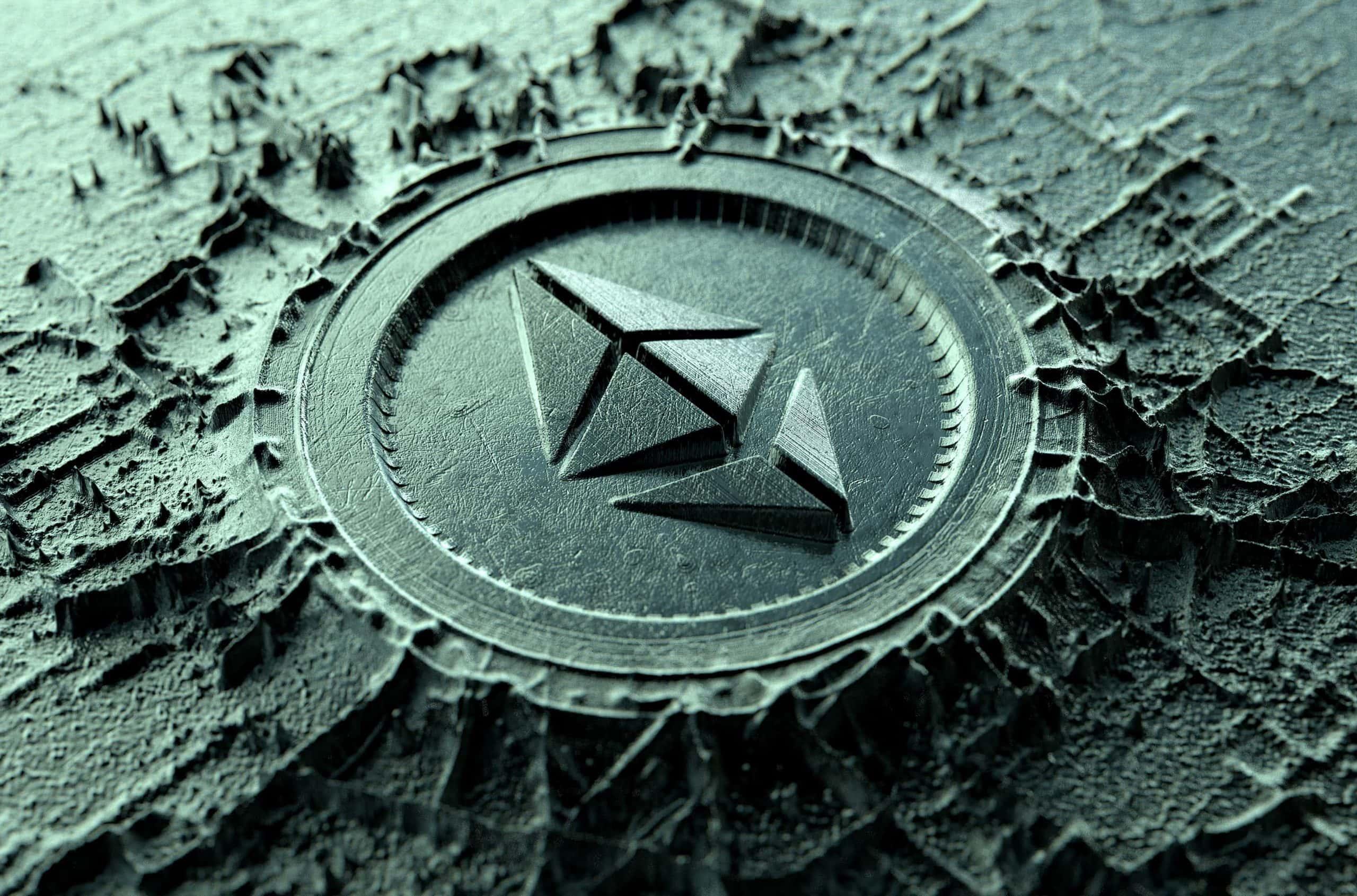 Illsutration des Ethereum-Logos