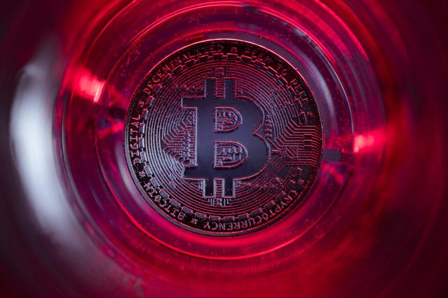 Bitcoin schreibt rote Zahlen.