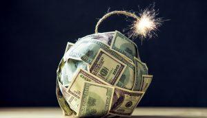 Der US-Dollar explodiert.
