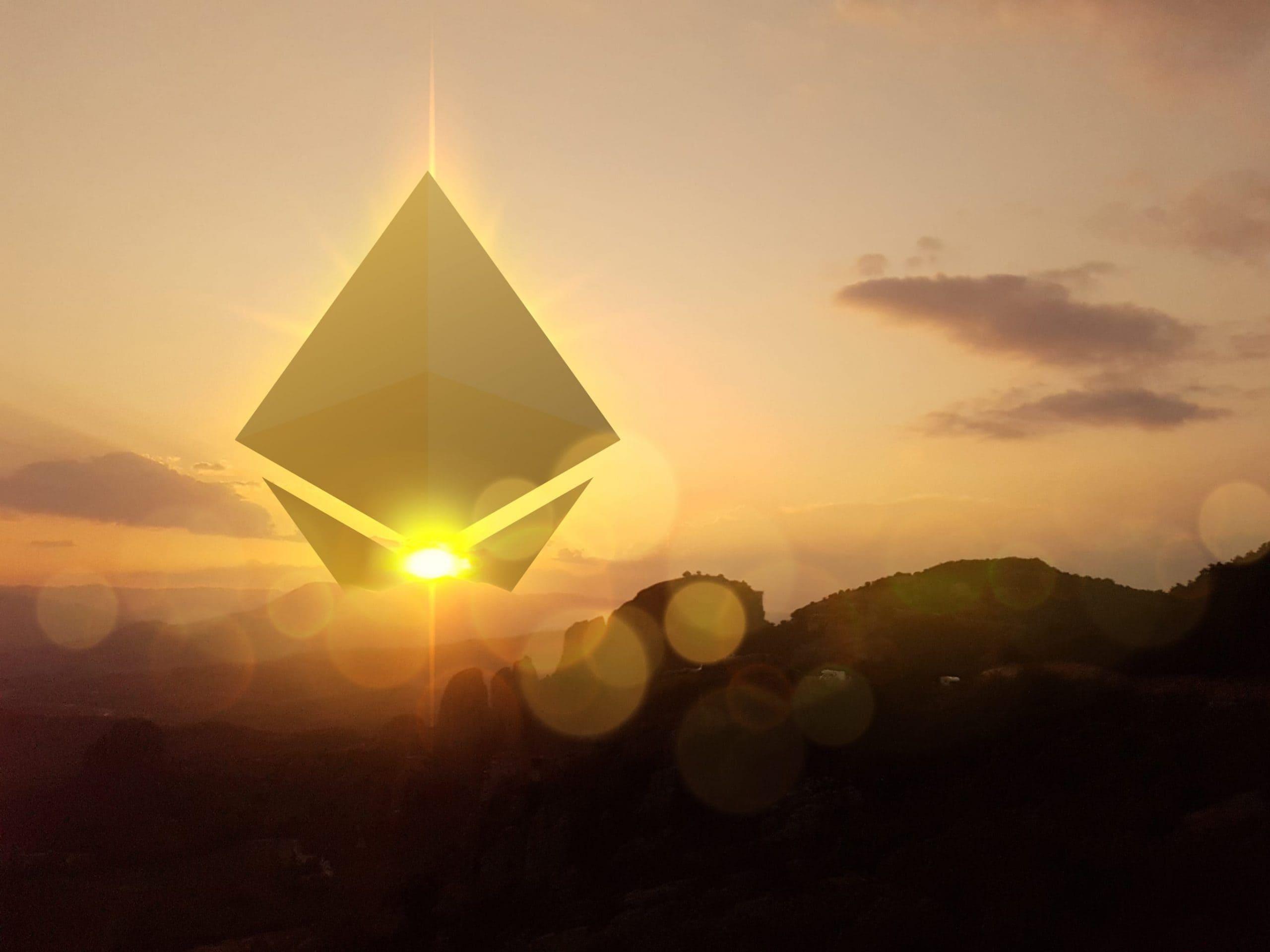 """Aufgehende """"Ethereum-Sonne"""""""