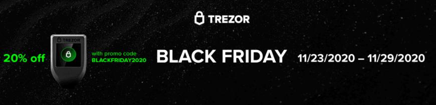 Trezor Black Friday Sale