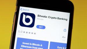 Bitwala App Bilschirm