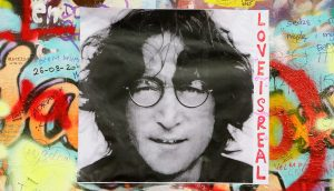 John Lennon Bild Bitcoin