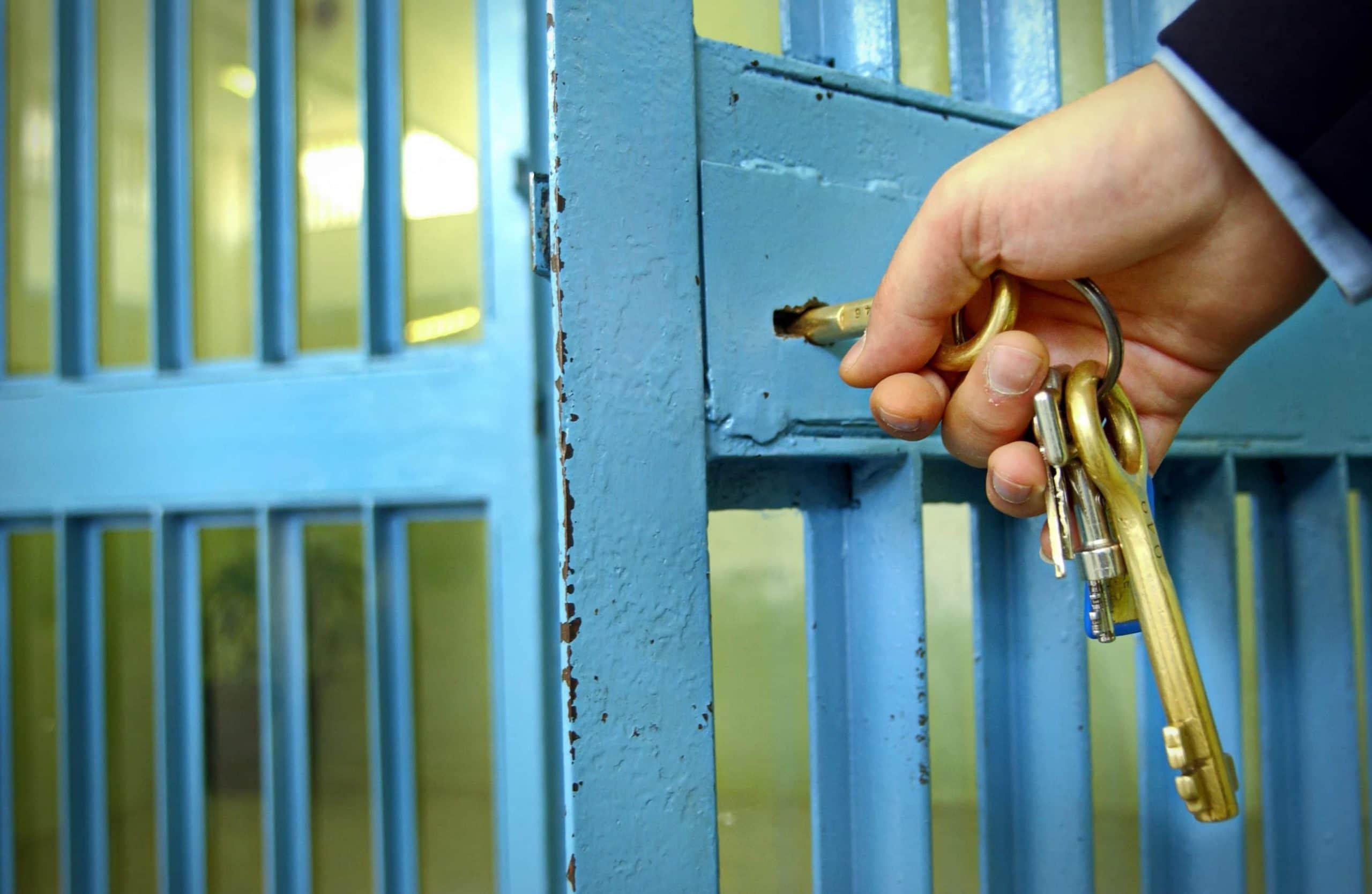 Gefängnisgitter
