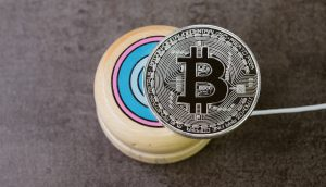 Bitocin-Münze auf Jojo