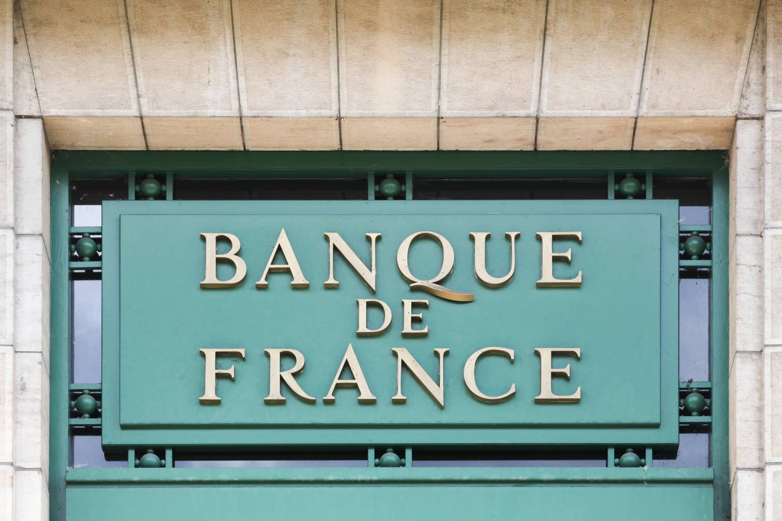 Bankgebäude der französischen Zentralbank