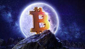 Bitcoin-Kurs auf dem Mond