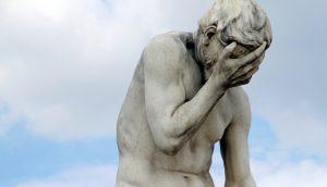 Statue im Pariser Tuileriengarten